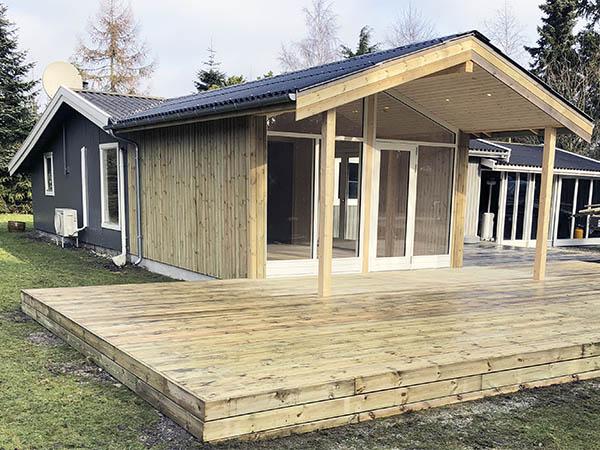 1 Lotusvej tilbygning sommerhus Marielyst MT Totalbyg tømrer