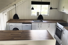 2 nyt køkken MT Totalbyg tømrer snedker Sydfalster